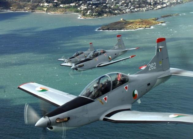 Bientôt une force aérienne pour l'Irlande?