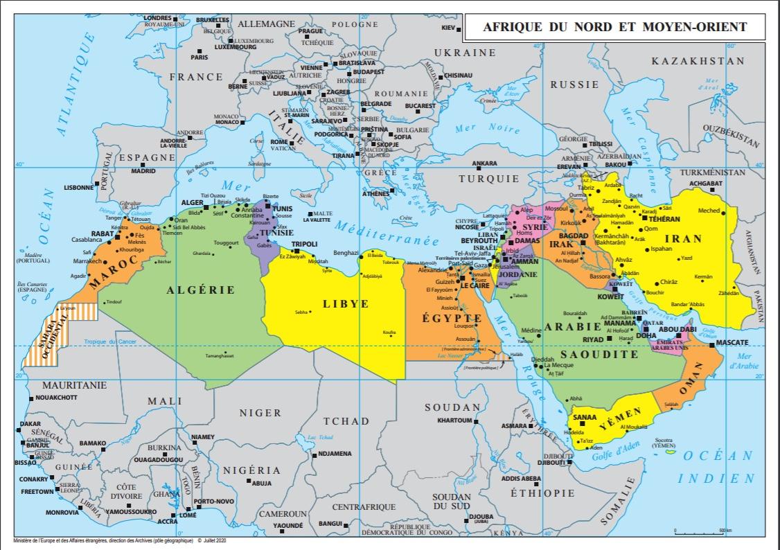 La «politique arabe» de la France a-t-elle toujours été non alignée ?